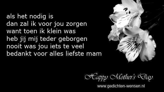 Gedichten Moederdag Van Moeder Voor Dochter Over Liefde En Trots