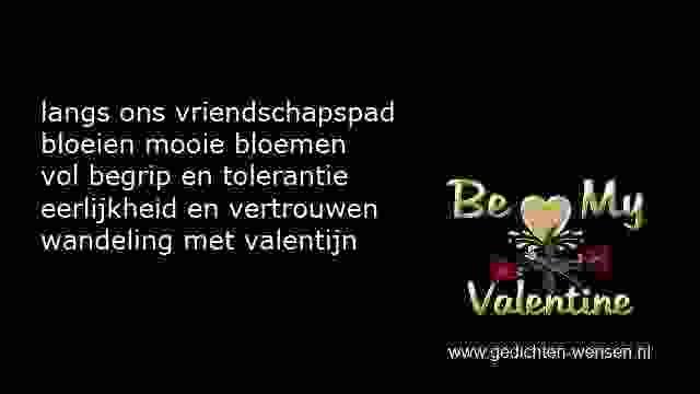 Valentijn Gedichten Vriendschap Vriendschapsgedichten Sms