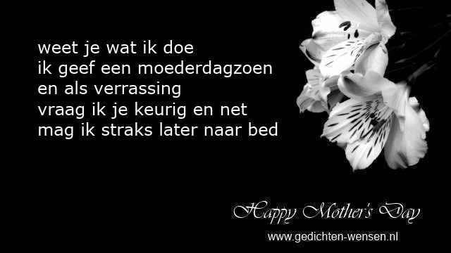 Grappige Gedichten Moederdag En Humor Rijmpjes Van Peuters