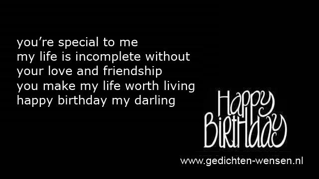 Engelse Verjaardagswensen Sms Verjaardagsgedichten Engels