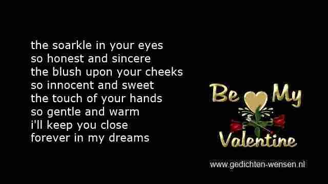 Liefdesgedichten Valentijn Met Engelse Wensen